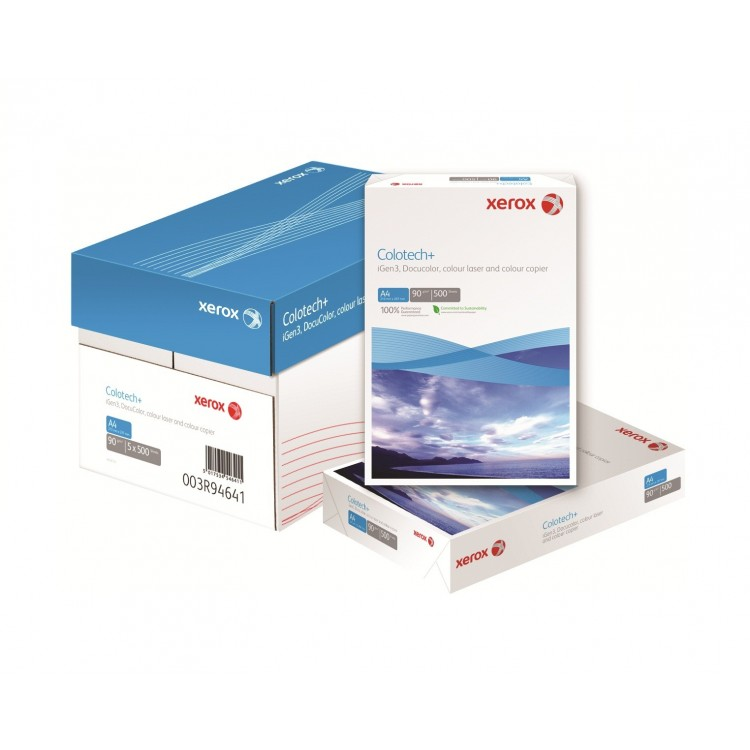 Carton A4 300g/mp 125 coli/top alb, XEROX Colotech