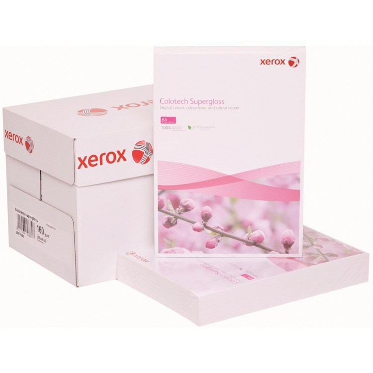 Carton A3 160g/mp 250 coli/top alb, XEROX Colotech Superlucios