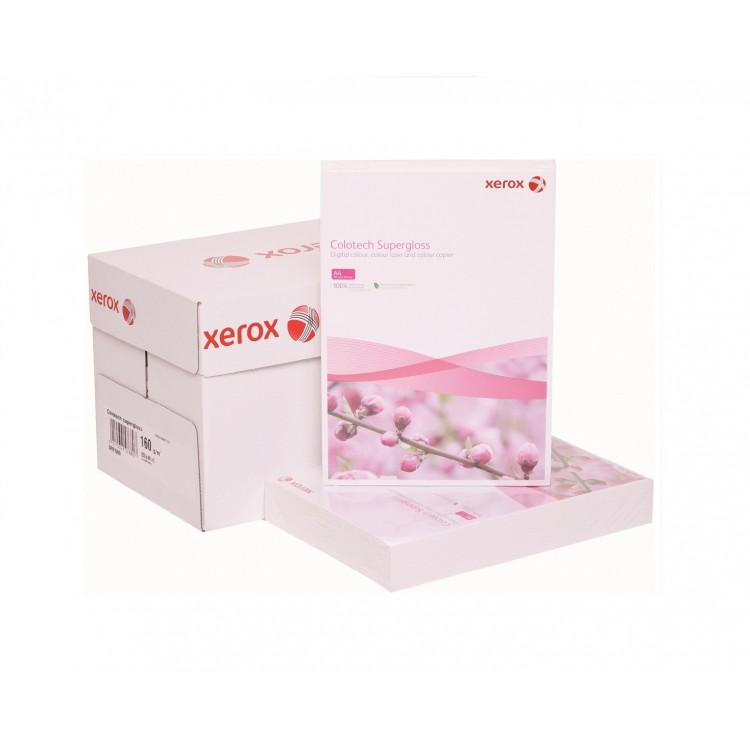 Carton A4 160g/mp 250 coli/top alb, XEROX Colotech Superlucios