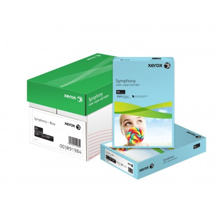 Carton A4 160g/mp 250 coli/top portocaliu intens, XEROX