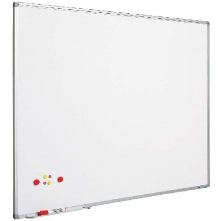Tabla magnetica alba 120x180cm rama aluminiu, SMIT