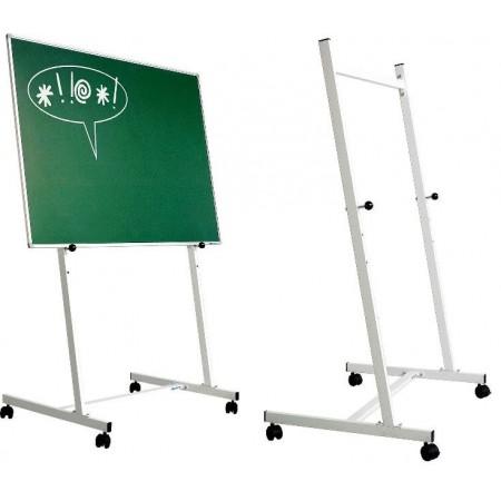 Stand metalic 90x150cm cu rotile si 3 pozitii fixe, SMIT