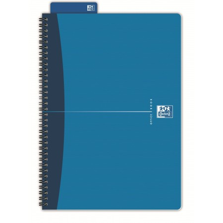 Caiet A4 cu spira 90 file dictando coperti carton, OXFORD Essentials