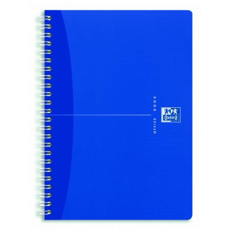 Caiet A4 cu spira 90 file matematica coperti PP, OXFORD My Colors