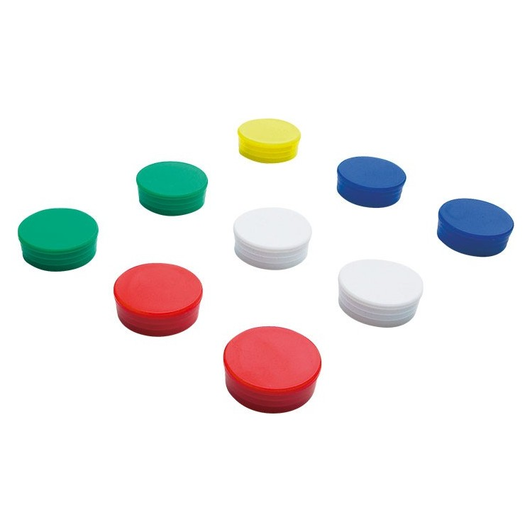 Magnet D10mm rosu 10 buc/set, SMIT