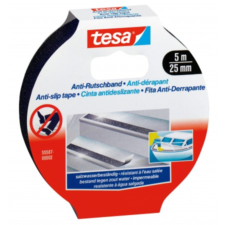 Banda adeziva antialunecare 25mm x 50m, TESA