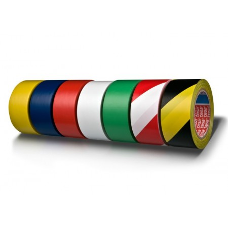 Banda adeziva pentru marcare 50mm x 33m galbena, TESA