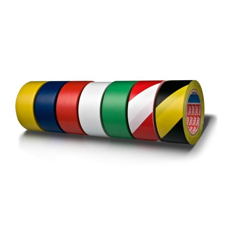 Banda adeziva pentru marcare 50mm x 33m verde, TESA