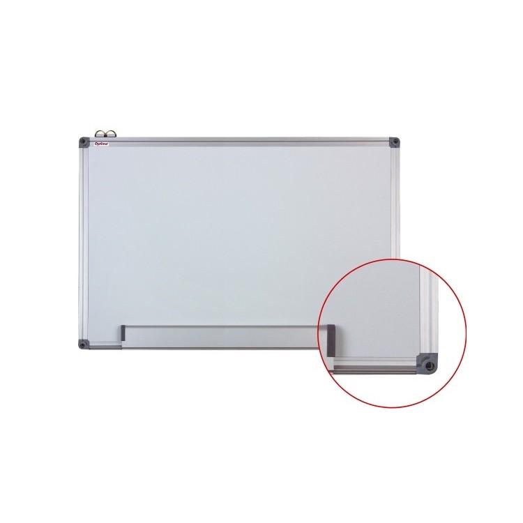Tabla magnetica alba 100X150cm rama aluminiu, OPTIMA