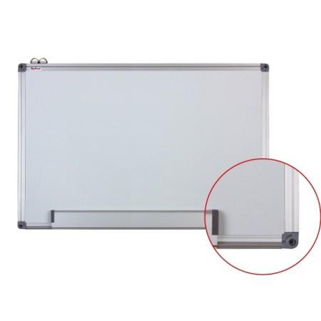 Tabla magnetica alba 90X120cm rama aluminiu, OPTIMA