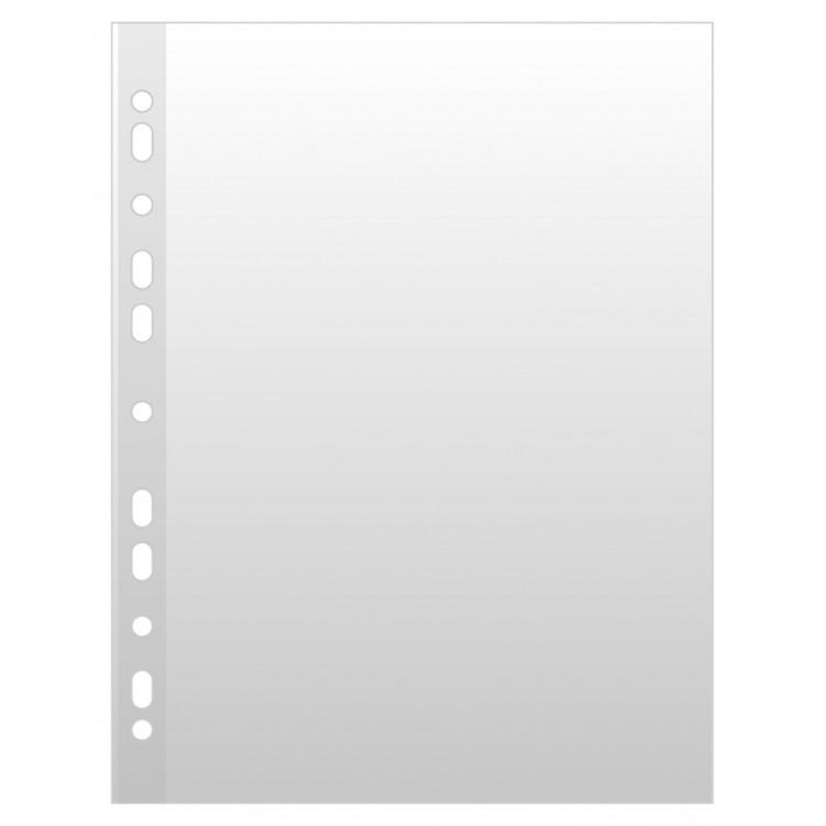 Folie protectie documente A4 40mic cristal 100 buc/set, OPTIMA
