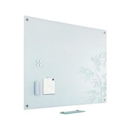 Tabla magnetica din sticla alba 90x120cm, SMIT