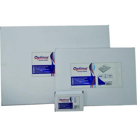 Folie pentru laminare A3 125mic 100 buc/set, OPTIMA