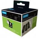 Etichete adezive 57x32mm albe repozitionabile 1000/rola, DYMO Labelwriter