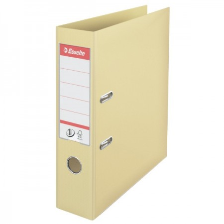 Biblioraft dublu plastifiat 7.5cm scoica, ESSELTE Standard