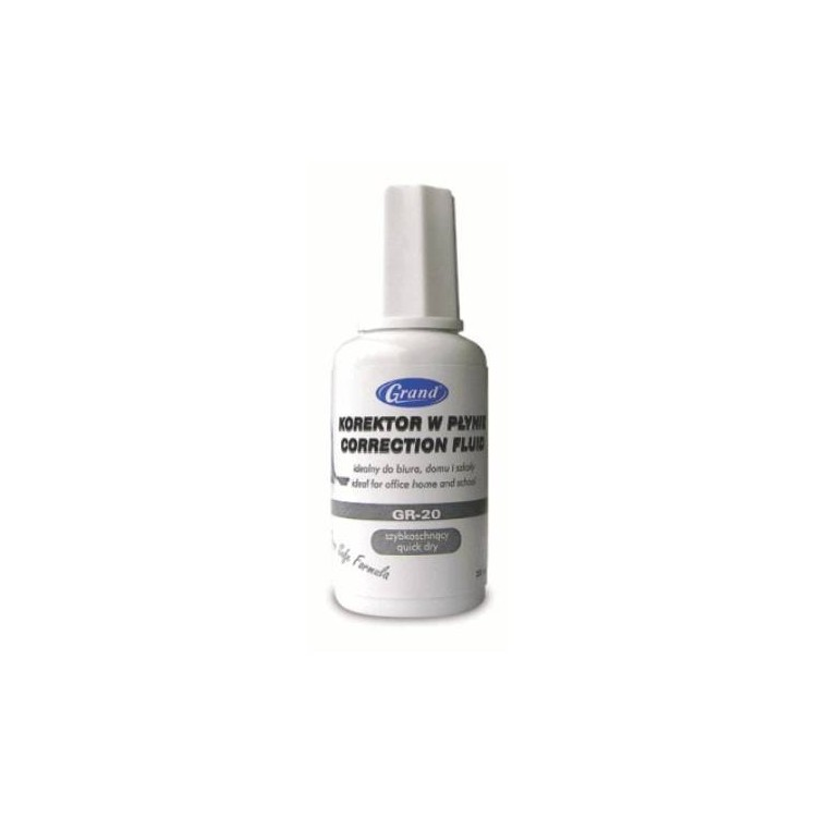 Fluid corector (solvent) 20ml, GRAND