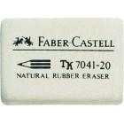 Radiera creion alba 30x23x7.5mm, FABER-CASTELL 7041