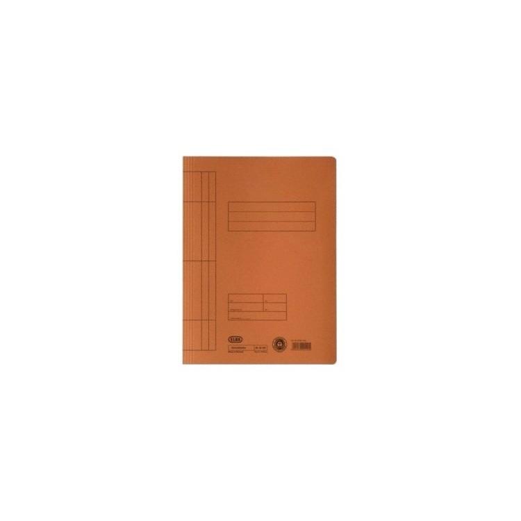 Dosar carton cu sina portocaliu, ELBA
