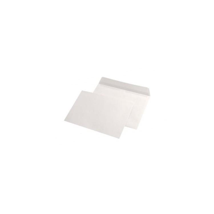 Plic C5 alb gumat 80g/mp 162x229mm tip L