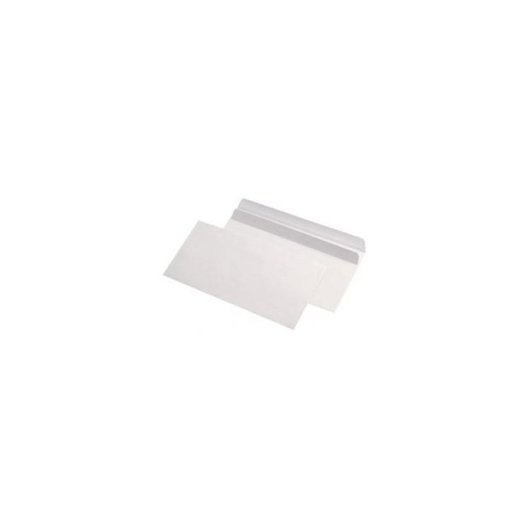 Plic DL alb autoadeziv 80g/mp 110x220mm