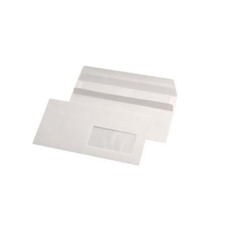 Plic DL alb autoadeziv 110x220mm fereastra dreapta