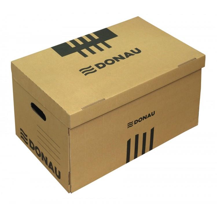 Container arhivare 522x351x305mm kraft, DONAU