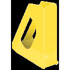 Suport vertical documente plastic galben, ESSELTE Europost Vivida