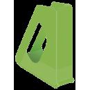 Suport vertical documente plastic verde, ESSELTE Europost Vivida