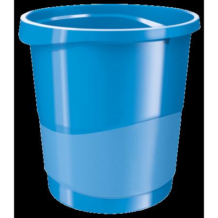 Cos hartii 14l plastic albastru, ESSELTE Europost Vivida