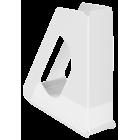 Suport vertical documente plastic alb, ESSELTE Europost Vivida