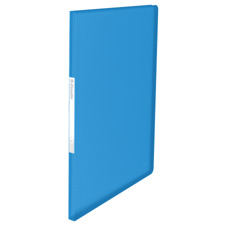 Mapa prezentare cu 20 folii albastra, ESSELTE Vivida