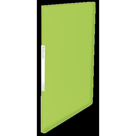 Mapa prezentare cu 20 folii verde, ESSELTE Vivida