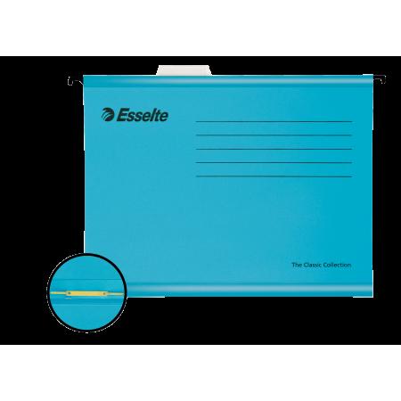 Dosar suspendabil cu sina albastru, ESSELTE Standard Pendaflex