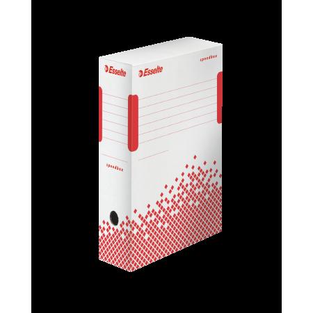 Cutie arhivare 10cm alba, ESSELTE Speedbox