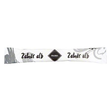 Zahar alb stick 5g 200 pliculete/punga, RIOBA