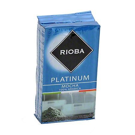 Cafea macinata 100 % Arabica 250 g/punga, RIOBA Platinium