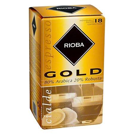 Capsule cafea 6.94g 18 buc/set, RIOBA Gold