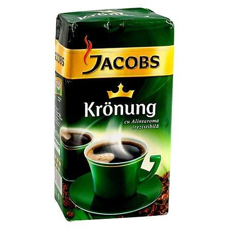 Cafea macinata 500 g/punga, JACOBS Kronung