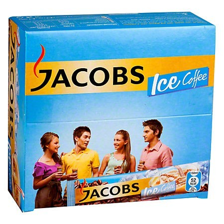 Cafea instant 3 in 1 18g 24 pliculete/cut, JACOBS Ice Coffee