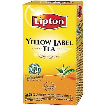 Ceai negru 25 pliculete/cut, LIPTON