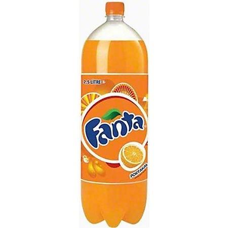 Fanta Orange 2.5 litri 6 buc/bax