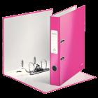 Biblioraft plastifiat 5cm roz metalizat, LEITZ WoW
