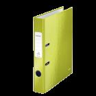 Biblioraft plastifiat 5cm verde metalizat, LEITZ WoW