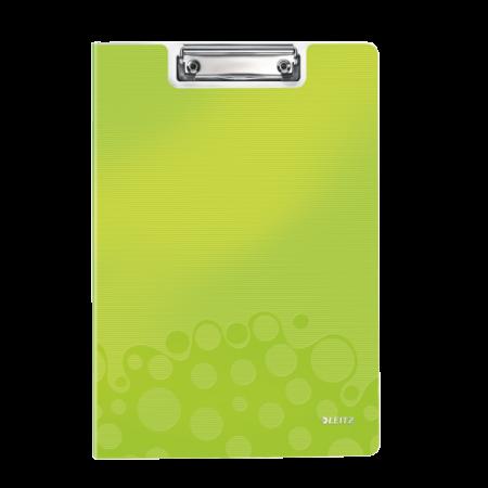 Clipboard dublu PP verde metalizat , LEITZ WoW