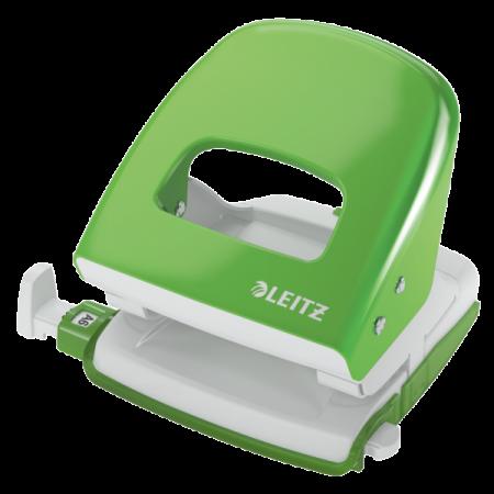 Perforator 30 coli verde deschis, LEITZ 5008