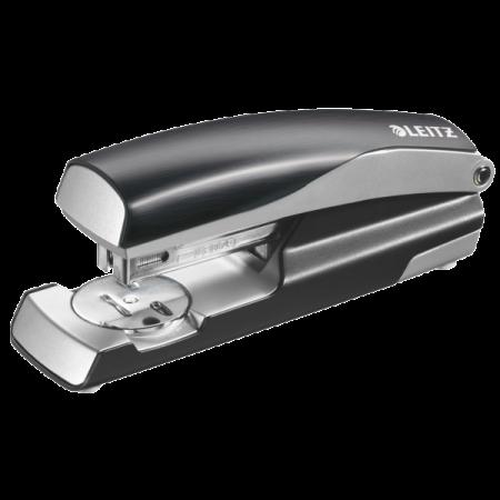 Capsator 24/6 30 coli negru satin, LEITZ 5562 Style