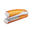 Capsator nr. 10 10 coli portocaliu metalizat, LEITZ 5528