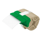 Cartus cu etichete din hartie banda continua 88mm x 22m alba cu adeziv permanent, LEITZ Icon