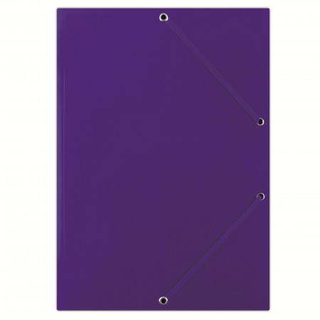 Mapa carton cu elastic 400g/mp albastra, DONAU