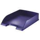 Tavita documente plastic albastru violet, LEITZ Style